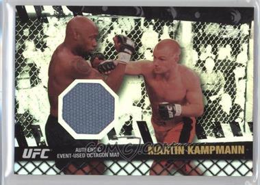 2010 Topps UFC Series 4 - Fight Mat Relics - Silver #FM-MK - Martin Kampmann /88