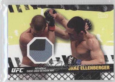 2010 Topps UFC Series 4 - Fight Mat Relics #FM-JE - Jake Ellenberger