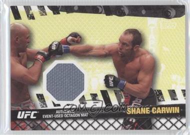 2010 Topps UFC Series 4 - Fight Mat Relics #FM-SC - Shane Carwin