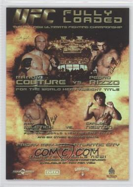 2010 Topps UFC Series 4 - Fight Poster Review #FPR-UFC31 - UFC31 (Randy Couture, Pedro Rizzo, Pat Miletich, Carlos Newton)