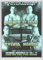 UFC65 (Matt Hughes, Georges St-Pierre, Tim Sylvia, Jeff Monson)