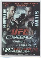 UFC99 (Rich Franklin, Wanderlei Silva, Cain Velasquez, Cheick Kongo)