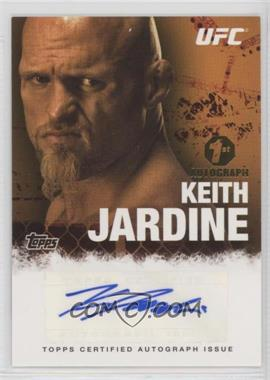 2010 Topps UFC Series 4 - Fighter Autographs #FA-KJ - Keith Jardine