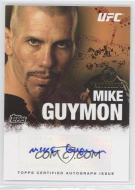 2010 Topps UFC Series 4 - Fighter Autographs #FA-MG - Mike Guymon