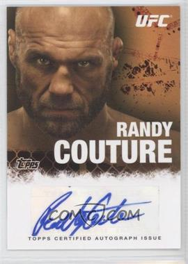 """2010 Topps UFC Series 4 - Fighter Autographs #FA-RC - Randy """"The Natural"""" Couture (Randy Couture)"""