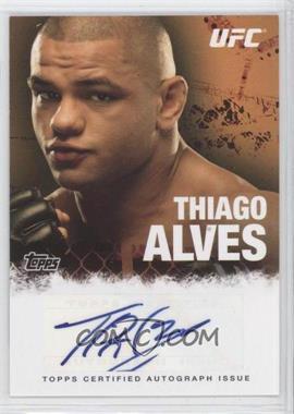 2010 Topps UFC Series 4 - Fighter Autographs #FA-TA - Thiago Alves