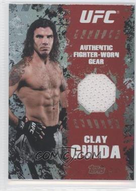2010 Topps UFC Series 4 - Fighter Gear Relics #FR-CG - Clay Guida
