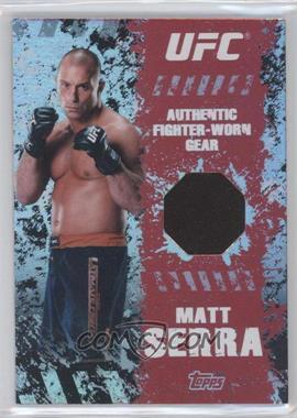 2010 Topps UFC Series 4 - Fighter Gear Relics #FR-MS - Matt Serra