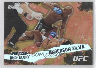 """2010 Topps UFC Series 4 - Pride and Glory #PG-14 - Anderson """"The Spider"""" Silva (Anderson Silva)"""