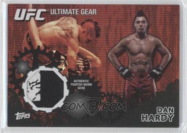 2010 Topps UFC Series 4 - Ultimate Gear Relic - Onyx #UG-DH - Dan Hardy /88