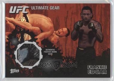 2010 Topps UFC Series 4 - Ultimate Gear Relic - Onyx #UG-FE - Frankie Edgar /88