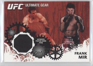2010 Topps UFC Series 4 - Ultimate Gear Relic #UG-FM - Frank Mir
