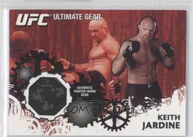 2010 Topps UFC Series 4 - Ultimate Gear Relic #UG-KJ - Keith Jardine