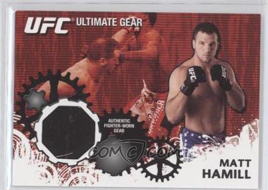 2010 Topps UFC Series 4 - Ultimate Gear Relic #UG-MHA - Matt Hamill