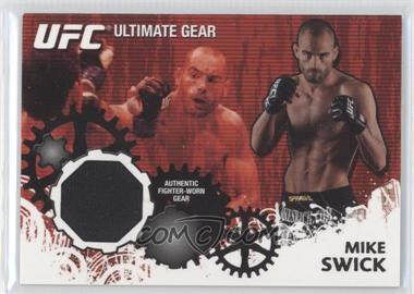 2010 Topps UFC Series 4 - Ultimate Gear Relic #UG-MS - Mike Swick