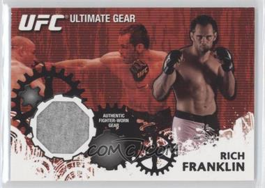 2010 Topps UFC Series 4 - Ultimate Gear Relic #UG-RF - Rich Franklin