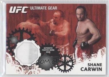 2010 Topps UFC Series 4 - Ultimate Gear Relic #UG-SC - Shane Carwin