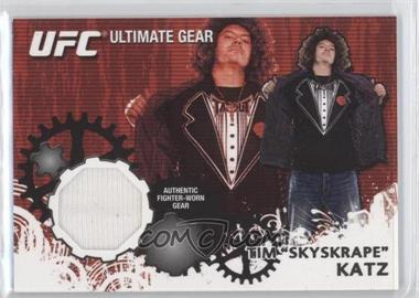 2010 Topps UFC Series 4 - Ultimate Gear Relic #UG-TK - Tim Katz