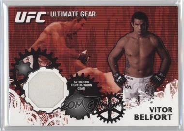 2010 Topps UFC Series 4 - Ultimate Gear Relic #UG-VB - Vitor Belfort