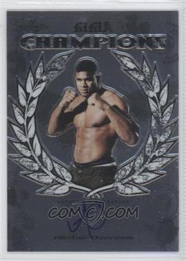 2011 Leaf Metal MMA - [???] #CH-AO-1 - Alistair Overeem
