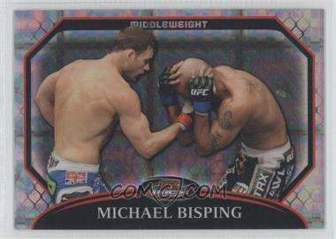 2011 Topps UFC Finest - [Base] - X-Fractor #18 - Michael Bisping /388