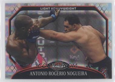 "2011 Topps UFC Finest - [Base] - X-Fractor #55 - Antonio Rogerio ""Minotouro"" Nogueira /388"