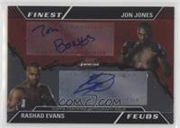Rashad Evans, Jon Jones #/25