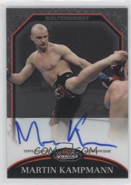 2011 Topps UFC Finest - Fighter Autographs #A-MK - Martin Kampmann