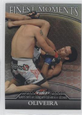 2011 Topps UFC Finest - Finest Moments - Octo-Fractor #FM-CO - Charles Oliveira /8