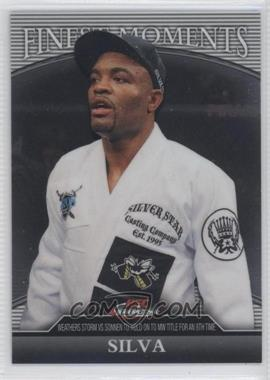 "2011 Topps UFC Finest - Finest Moments #FM-AS - Anderson ""The Spider"" Silva (Anderson Silva) /388"