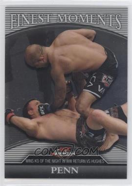2011 Topps UFC Finest - Finest Moments #FM-BJP - B.J. Penn (BJ Penn) /388