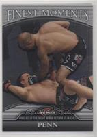 B.J. Penn (BJ Penn) [EX to NM] #/388