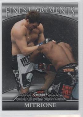 2011 Topps UFC Finest - Finest Moments #FM-MM - Matt Mitrione /388