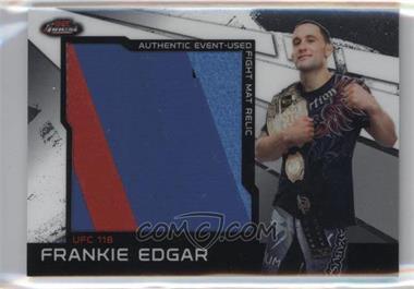 2011 Topps UFC Finest - Jumbo Fight Mat Relics #MR-FE - Frankie Edgar