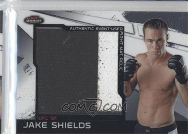 2011 Topps UFC Finest - Jumbo Fight Mat Relics #MR-JS - Jake Shields