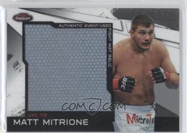 2011 Topps UFC Finest - Jumbo Fight Mat Relics #MR-MM - Matt Mitrione