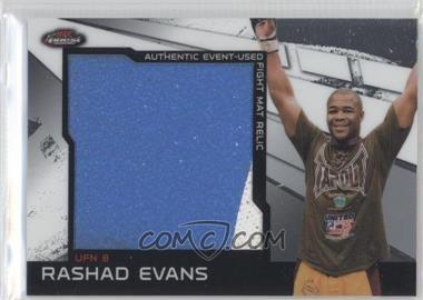 2011 Topps UFC Finest - Jumbo Fight Mat Relics #MR-RE - Rashad Evans
