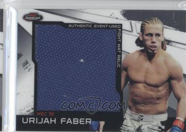 2011 Topps UFC Finest - Jumbo Fight Mat Relics #MR-UF - Urijah Faber