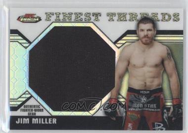 2011 Topps UFC Finest - Threads Jumbo Relics - Octo-Fractor #JR-JM - Jim Miller /8