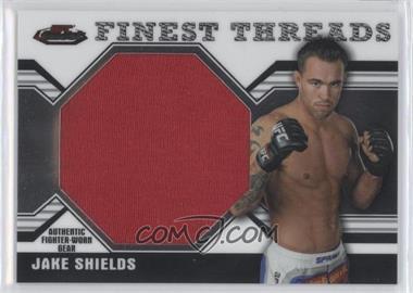 2011 Topps UFC Finest - Threads Jumbo Relics #JR-JS - Jake Shields
