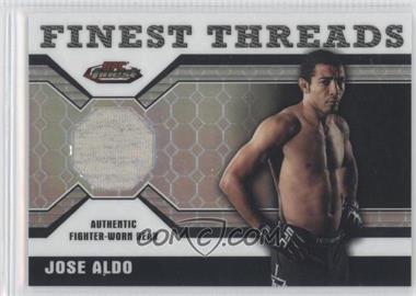 2011 Topps UFC Finest - Threads Relics - Octa-Fractor #R-JA - Jose Aldo /8