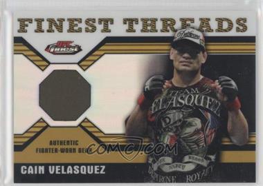 2011 Topps UFC Finest - Threads Relics - Refractor #R-CV - Cain Velasquez /88