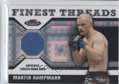 2011 Topps UFC Finest - Threads Relics - X-Fractor #R-MK - Martin Kampmann /188