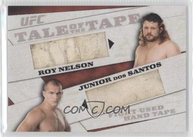 2011 Topps UFC Moment of Truth - [???] #TTDR-ND - Roy Nelson, Junior Dos Santos /25