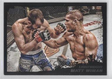 2011 Topps UFC Moment of Truth - [Base] - Onyx #168 - Matt Wiman /88