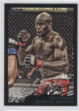 2011 Topps UFC Moment of Truth - [Base] - Onyx #191 - Cheick Kongo /88