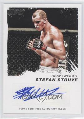 2011 Topps UFC Moment of Truth - Certified Signatures #CS-SST - Stefan Struve