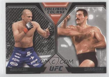 2011 Topps UFC Moment of Truth - Colission Course Duals #CC-GS - Royce Gracie, Dan Severn