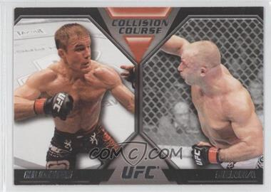 2011 Topps UFC Moment of Truth - Colission Course Duals #CC-HS - Matt Hughes, Matt Serra