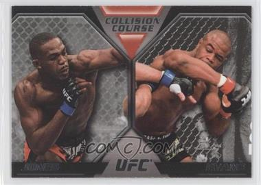 2011 Topps UFC Moment of Truth - Colission Course Duals #CC-JE - Jon Jones, Rashad Evans